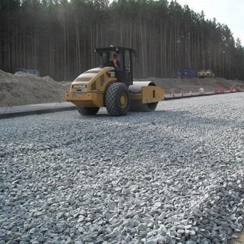 Строительство дорожного основания